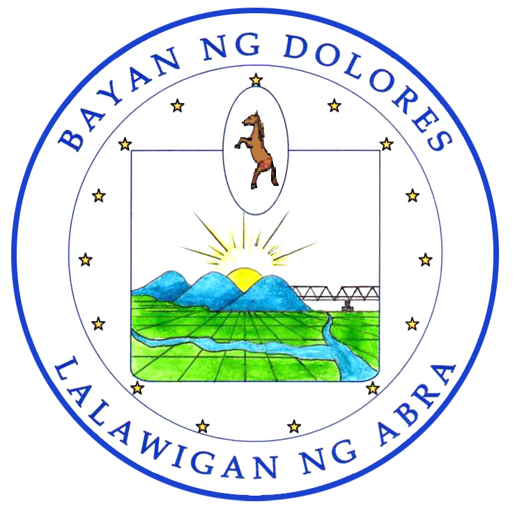 The Official Logo of the Municipality of Dolores, Abra.